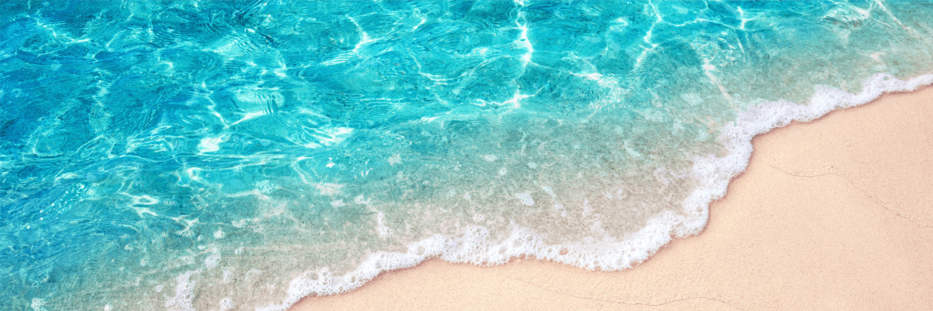 Beach Shore with seafoam